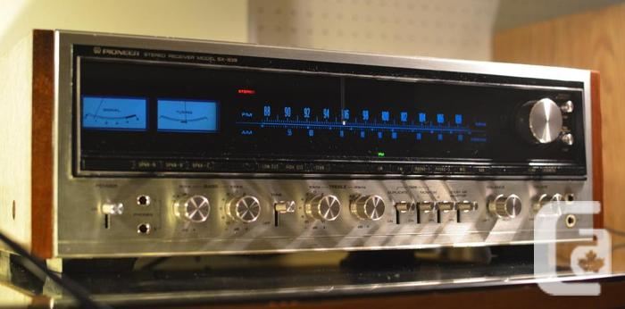 SUPERB PIONEER SX-939 STEREO RECEIVER * REFURBISHED, NICE ! * in Orleans,  Ontario for sale