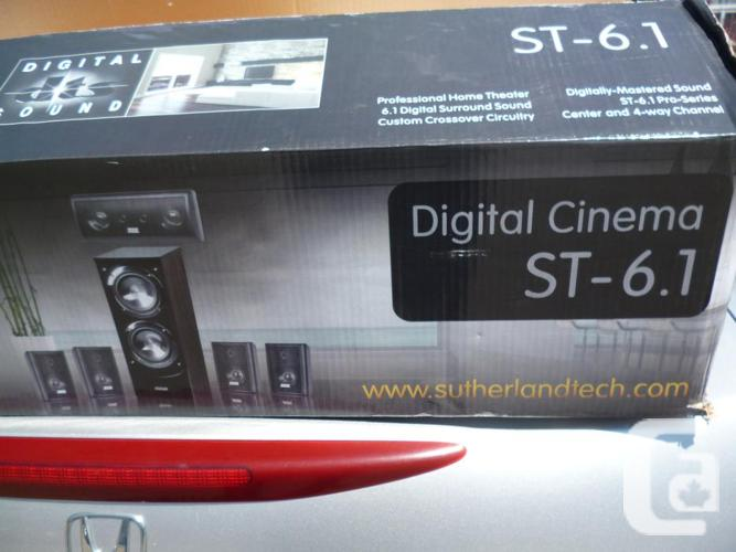 Sutherland ST-6.1 Surround System Speakers in box