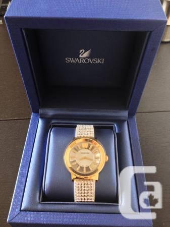 Swarovski Piazza - Gold PVD, Gem Mesh - $700