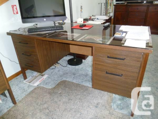 Table & related credenza - $350