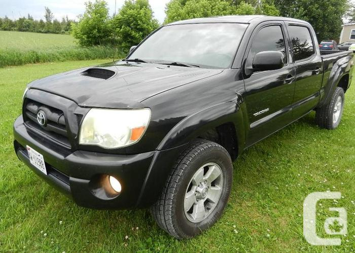TACOMA SR5 SPORT DOUBLE CAB NEW CHASSIS TRADE IN