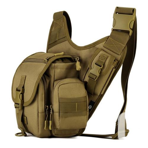 Tactical Military Molle Utility Crossbody Sling Bag