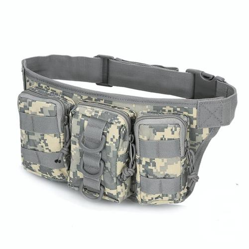 Tactical Military Molle Utility Waist Bag - Camouflage