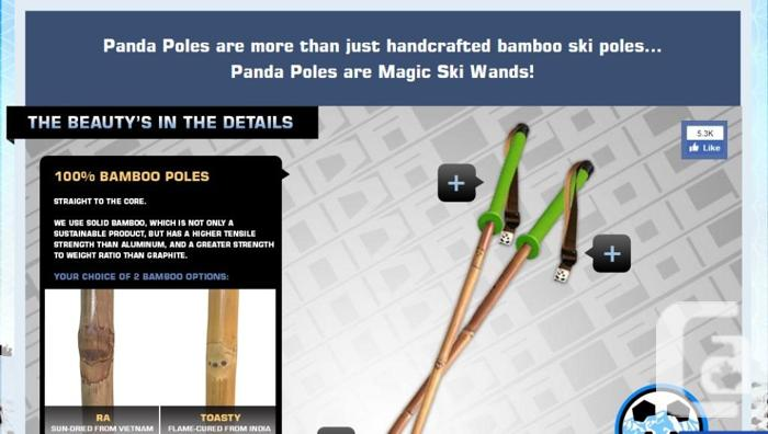 Take A Skiing Adventure With Our Bamboo Ski Poles,