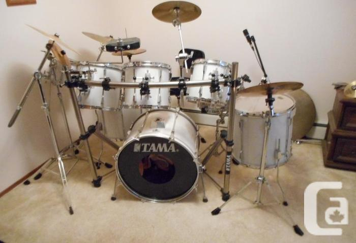 TAMA ROCKSTAR DX 8 PC PRO DRUM SET KIT W 11