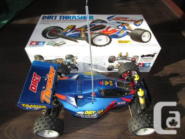 TAMIYA RC CAR: DIRT THRASHER (USED) COMPLETE COMBO - $200 in Vancouver,  British Columbia for sale