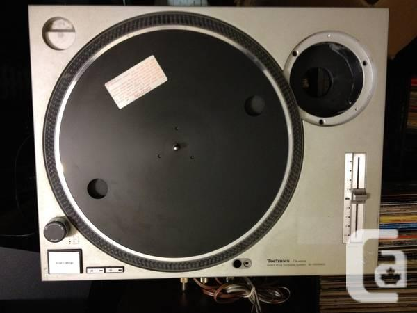 Desired: Technics SL-1200 components or total turntable