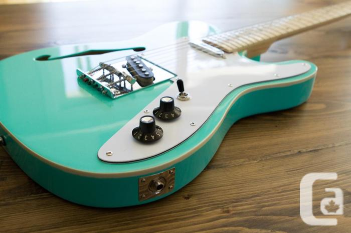 Telecaster Thinline style guitar