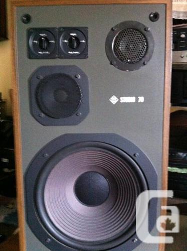 Telefunken Business 70 3-Way Speakers. Exc. cond.