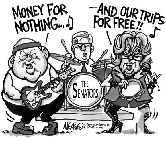 The BUCKSenators group (Duffy and Wallin) tshirt!