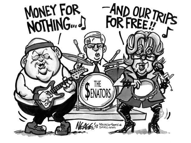 The $enators band (Duffy and Wallin) t-shirt ! OUTSIDE