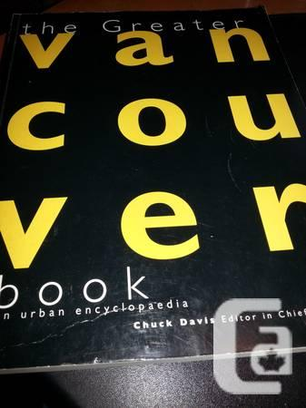 The Greater Vancouver book: An urban encyclopedia