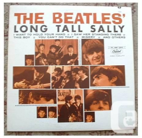 The Long Tall Canadian Plastic LP - $25