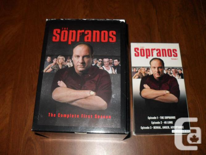 The Sopranos Season one Volume 1 VHS Tape + Collector's Box in Brunswick  Mines, New Brunswick for sale