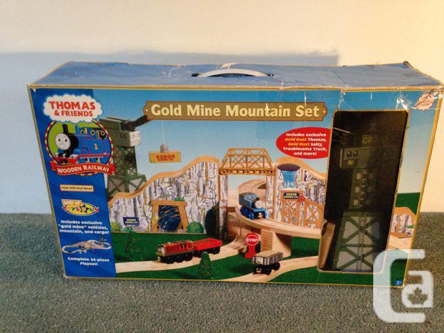 Thomas Wooden Train: Gold Mine Mountain Set in Duncan, British Columbia for  sale