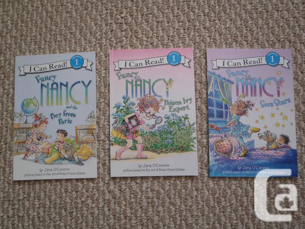 Three Fancy Nancy Reading Level 1 Books