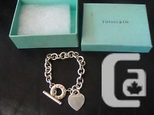 Tiffany Heart Charm Bracelet OBO - $200