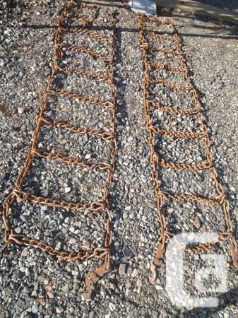 TIRE CHAINS - $80