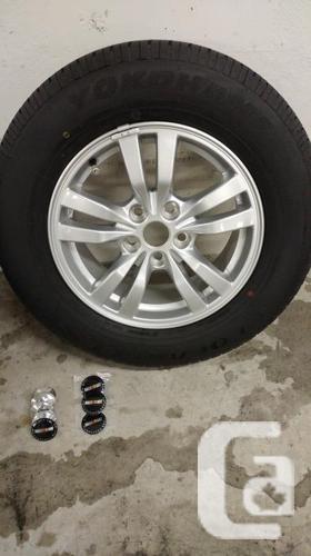 Tires and wheels set 215 x 70 x 16 ( YOKOHAMA )