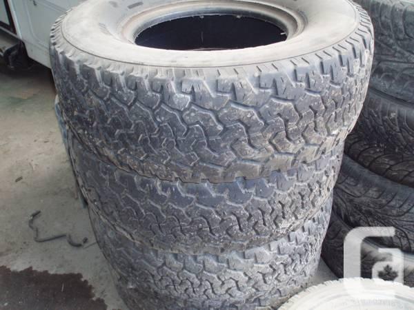 Tires - BF Goodrich All-Terrain LT295/75R16 - $250