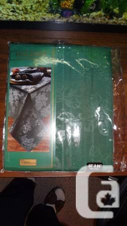 Tobin Christmas Fabric Tablecloth 60