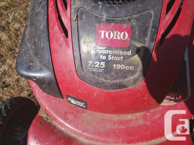 "TORO 22"" Gas Personal Pace Mower"