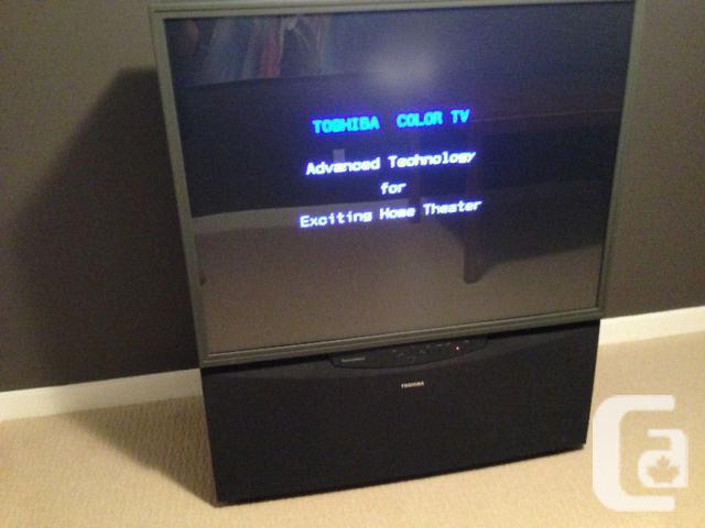 "Toshiba 50"" Projection TV"
