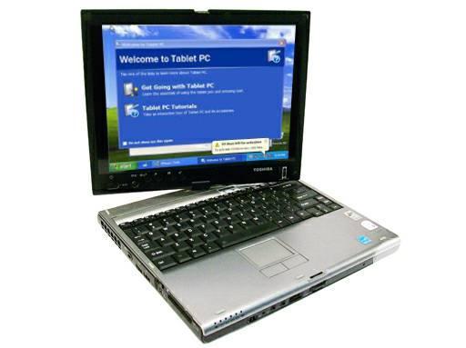 TOSHIBA M400 PORTEGE PILL Core2Duo 2GB Memory Wireless