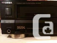 Toshiba XR-9058 Six CD Changer Player Made in Japan