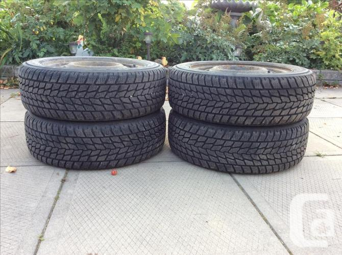 Toyo Winter Tires 15inch on rims