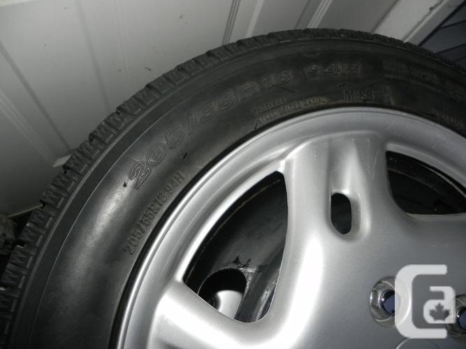 Toyo Winter Tires on Rims 205/55R16