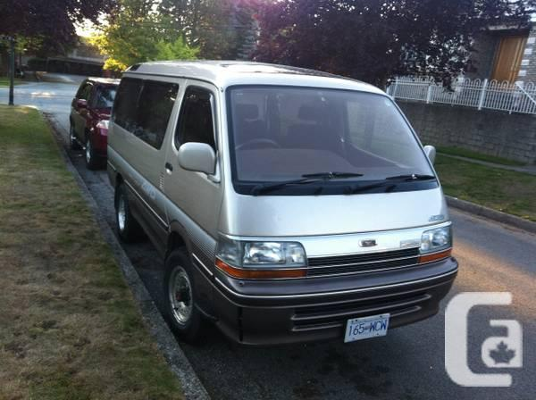 Toyota hiace. 2.4 L diesel - $39000 in Vancouver, British Columbia for ...