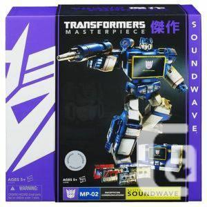 Toys R Us Exclusive Tranformers Masterpiece Soundwave