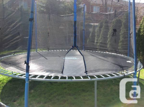 Trampoline --build your own for less.... - $80