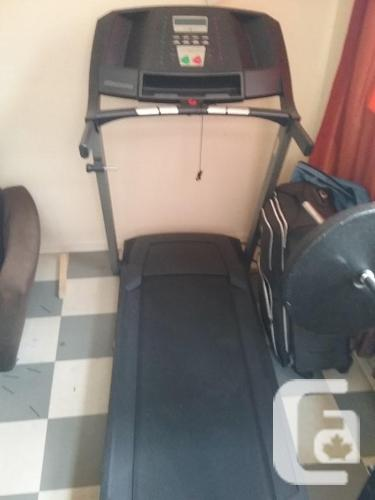 TREADMILL Worth 650 NEW For 300 USED! Power Surge