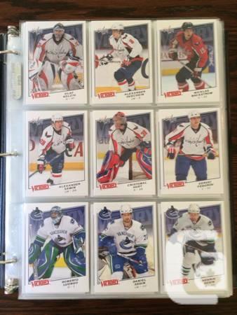 Triumph 2008-09 Hockey Set - $40
