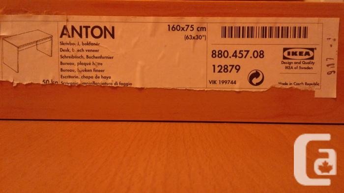 Two ikea anton desks for sale in north gower ontario classifieds