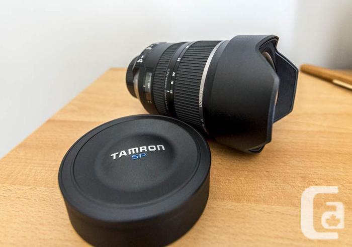 Two months old Tamron 15-30 f/2.8 VC lens - Like new!