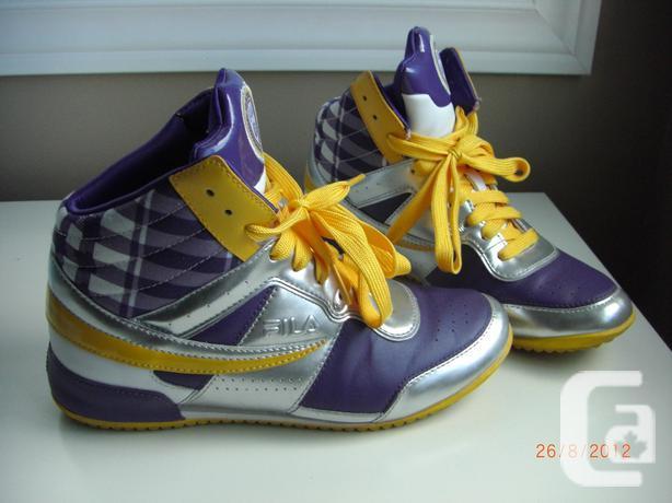 UniSex Big Bang Limited Edition FILA hightop sneakers