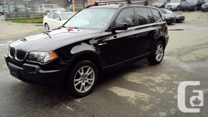 US$10,800 2006 BMW X3 SUV AWD 2.5i