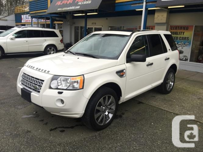 us 2008 land rover lr2 awd hse for sale in vancouver british columbia classifieds. Black Bedroom Furniture Sets. Home Design Ideas