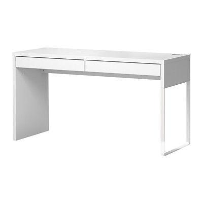 US$119.99 Ikea Micke Desk with 2 Drawers Computer