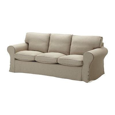 US RARE Ikea COVER EKTORP Slipcover 3 Seat Sofa Risane