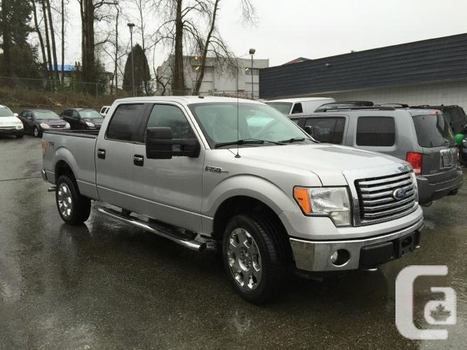 us 2010 ford f 150 4wd supercrew xtr package for sale in coquitlam british columbia classifieds. Black Bedroom Furniture Sets. Home Design Ideas