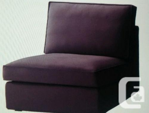 Us Ikea Kivik Chair One Seat Sofa Slipcover Purple For Sale In Mississauga Ontario