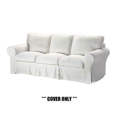 us ikea ektorp slipcover for 3 seat sofa stenasa white new for sale in beloeil quebec. Black Bedroom Furniture Sets. Home Design Ideas