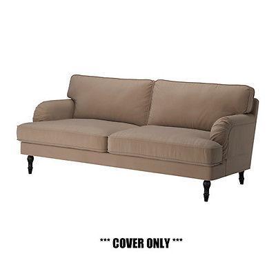 us ikea stocksund slipcover for 3 seat sofa 79 ljungen for sale in beloeil quebec. Black Bedroom Furniture Sets. Home Design Ideas