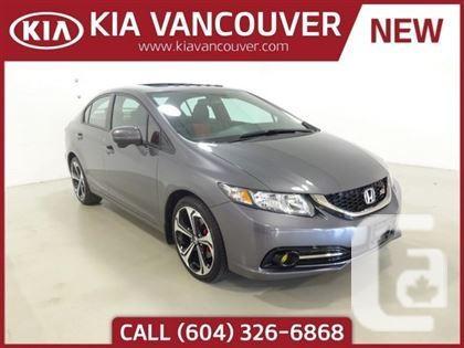 US$24,875 2015 Honda Civic Sedan Si