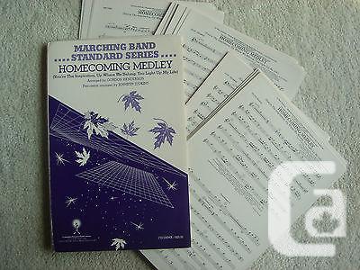 US$25 Marching Band - Homecoming Medley - Sheet Music