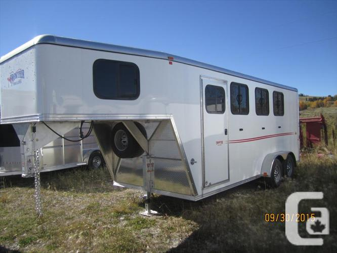 US$26,595 2016 Frontier Strider 3 Horse Angle Haul